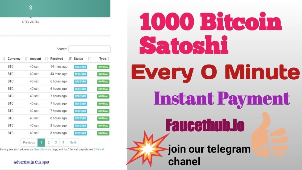 Satoshi kiekvieną minutę. Užbaristuduona.lt: Lengviausias būdas užsidirbti
