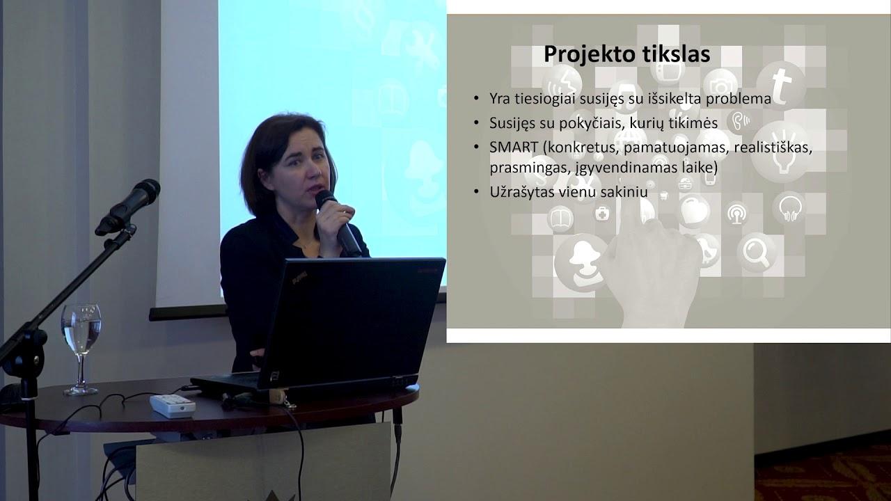 realios projektų valdymo galimybės