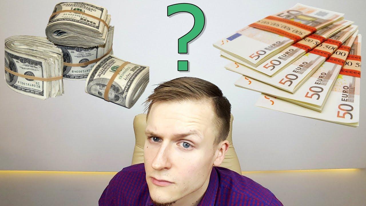 užsidirbti pinigų iš dolerio